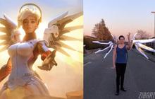 """Fan cuồng chế tạo bộ cánh Mercy siêu chất, thoải mái """"tung cánh"""" không khác gì bản gốc!"""