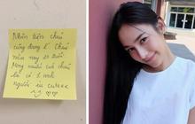 Căn phòng trong ký túc xá lấy làm khu cách ly, cô sinh viên không chỉ vui vẻ chấp hành còn để lại bao lời nhắn nhủ dành cho người lạ sắp dọn đến ở