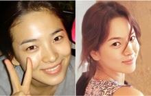 """Nhìn tuyển tập ảnh mặt mộc ít son phấn của Song Hye Kyo, người ta sẽ biết nhan sắc của cô """"thần thánh"""" đến độ nào"""