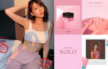 """Min đăng 7 tấm ảnh ở nhà: ai """"dán mắt"""" vào body sexy thì cứ việc, riêng fan Kpop dành trọn sự chú ý vào album IU, Taeyeon, BLACKPINK bày xung quanh"""
