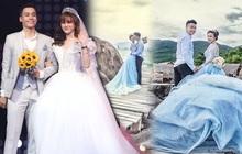 """Hé lộ bộ ảnh cưới khiến Cao Xuân Tài mất đi nụ hôn đầu, """"cô dâu"""" cài làm hình nền nhưng không quên đính chính!"""