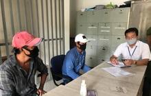 TP.HCM: 2 thanh niên không đeo khẩu trang ở chợ đầu mối nông sản Thủ Đức bị phạt 200.000 đồng