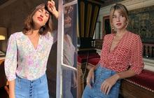 """Thần chú sang chảnh hóa phong cách của phụ nữ Pháp chính là váy áo cổ V: Bạn diện theo là """"lên đời"""" style tức thì"""