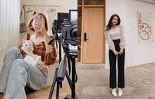 """Muôn kiểu lên đồ của hội gái xinh mùa dịch: Người sống ảo tại gia, người khoe street style khá """"rén"""""""