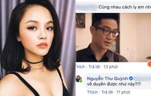 """Bất ngờ bị dân mạng lôi ảnh Chí Nhân ra để """"bông đùa"""", Thu Quỳnh đáp trả cực gắt!"""
