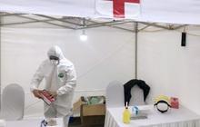 Phát hiện 3 trường hợp dương tính trong ngày đầu xét nghiệm nhanh Covid-19 ở Hà Nội