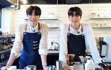 """Lộ diện hình ảnh được cho là SMTown Cafe tại Việt Nam nhưng dân tình lại """"phát sốt"""" vì dàn nhân viên pha chế"""