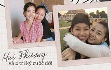 Có 2 người bạn tri kỷ luôn ở bên cố diễn viên Mai Phương lúc đau đớn, tràn lệ vì bệnh tật cho đến khi nhắm mắt xuôi tay