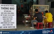 Đà Nẵng dừng hoạt động cửa hàng ăn uống bán qua mạng, bán mang đi từ ngày 2/4