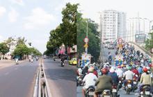Sài Gòn trong ngày đầu thực hiện cách ly toàn xã hội: Nhiều tuyến phố vắng vẻ, chỉ người bắt buộc phải đi làm mới ra đường