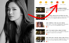 Song Hye Kyo chiếm trọn top tin gây phẫn nộ nhất Naver vì 1 lời ngầm phủ sạch mối quan hệ với Song Joong Ki?