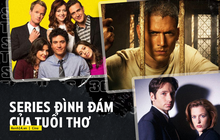 Đốt thời gian cực lẹ với 7 series phim Mỹ đi vào huyền thoại: Từ Friends đến trai đẹp Vượt Ngục có ai mà chưa xem?