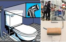 Giữa bão Covid-19, thứ cháy hàng ở Mỹ lại là... giấy vệ sinh: Phải chăng đã đến lúc người Mỹ cần học cách dùng VÒI XỊT?