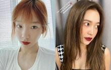 Xem Taeyeon đánh 2 màu son của Yeri là đủ biết son tôn da trắng bật tông, mặt mộc diện cũng đẹp bá cháy