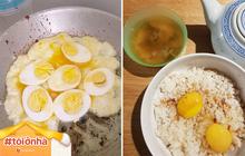 """Cạn kiệt thực phẩm vì ở trong nhà gần nửa tháng, dân mạng thế giới tìm ra đủ cách ăn trứng """"không đỡ nổi"""": một bữa ăn 3 món làm từ trứng!"""