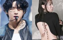 """Cựu idol Kpop hé lộ những bí mật về hình xăm của idol Kpop trong MV: Công sức bỏ ra không khác gì """"tha thu"""" thật!"""