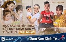 """Muôn kiểu hội mẹ bỉm sữa Vbiz kết hợp chăm con và bán hàng online mùa dịch: """"Cái khó ló cái khôn"""" là đây!"""