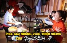 """Loạt ảnh hậu trường chưa từng được tiết lộ đằng sau những vlog triệu views của Quỳnh Trần JP, xem xong càng thấy thán phục """"mẹ bỉm sữa"""" này!"""