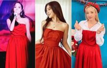 Irene xinh như công chúa khi đụng váy với Jessica, chỉ tội Dara mất công biến tấu lại đâm rối mắt