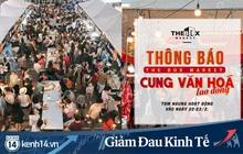 Không chỉ các hàng quán ăn uống, những hội chợ đình đám của giới trẻ cũng phải tạm ngưng hoạt động trong mùa dịch
