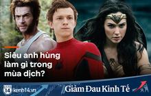 """Hội siêu anh hùng cực """"nhộn"""" mùa COVID-19: """"Nhện Nhí"""" thất nghiệp mua gà về ấp, Deadpool lầy lội may đầm từ giấy vệ sinh cho con gái"""