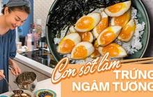 Người người nhà nhà làm trứng ngâm nước tương, đến Thanh Hằng, Hà Tăng cũng không bỏ qua trend này