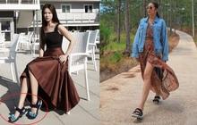 """Diện lên cực trẻ và """"chơi"""", bảo sao Song Hye Kyo lẫn Hà Tăng đều tích cực lăng xê mẫu sandal thô kệch này"""