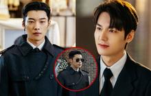 """Lee Min Ho đi đám ma lại cười mỉm, """"cận vệ"""" Woo Do Hwan đi hộ tống """"át vía"""" cả hoàng đế ở loạt ảnh trước giờ G Bệ Hạ Bất Tử"""