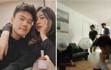 """""""Chị dâu"""" Hàn Hằng chụp ảnh khoe bạn, vô tình làm """"lộ"""" Trang Lou - Tùng Sơn hút bóng cười?"""