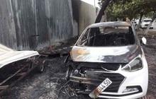 Nghi đốt vàng mã gây cháy ô tô và hư hỏng 2 xe máy điện ở Đà Nẵng