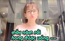 """Cực thích siro dâu tằm ở Việt Nam nhưng sau 4 năm Hari Won mới được uống lại, kết quả là 3 ngày """"đánh bay"""" hết nửa cân!"""