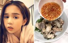 Lại giới thiệu thêm món cháo ếch nấu theo kiểu miền Tây trên Instagram, Ngọc Trinh ở nhà rảnh quá nên sắp làm food blogger luôn rồi!