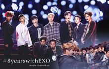 """8 năm của """"nhóm nhạc huyền bí"""" EXO: Từ tân binh sở hữu nhiều antifan nhất, sóng gió trải dài sự nghiệp hoạt động cho đến ngôi vương Kpop thế hệ 3"""