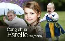 """Công chúa Estelle của Thụy Điển: Nữ hoàng tương lai mới 8 tuổi đã xinh đẹp xuất chúng, """"đốn tim"""" dân tình với style đáng yêu siêu cấp"""