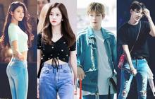 Xếp hạng 12 idol tỉ lệ body đẹp nhất nhờ quần jean: Kang Daniel - BTS tranh No.1, tranh cãi danh hài vượt mặt BLACKPINK