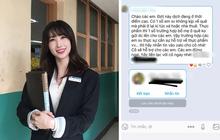 """Sợ sinh viên """"cách ly xã hội"""" một mình, cô giáo nhắn tin siêu ưng bụng: Đừng ăn mỳ tôm, nhắn cô mang thực phẩm hoặc tiền sang cho"""