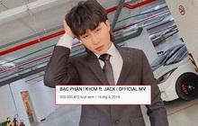 """Jack chính thức trở thành nam ca sĩ Vpop đầu tiên có MV đạt 300 triệu view với """"Bạc Phận"""", """"rinh"""" về 3 triệu subscribe chỉ sau thời gian ngắn"""