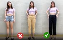Đùi to lại cộng thêm vòng 2 màu mỡ, chị em đừng lo vì kiểu quần này sẽ che đi tất cả