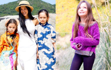 Diva Hồng Nhung khoe ảnh 2 nhóc tỳ mừng sinh nhật 8 tuổi: Công chúa nhỏ chiếm trọn spotlight vì nét đẹp đầy tiềm năng