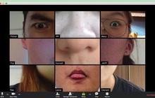 """1001 trò tạo dáng bá đạo khi học online qua Zoom, mỗi tội cẩn thận bị thầy cô cho vào """"sổ đen"""" đấy nhé!"""