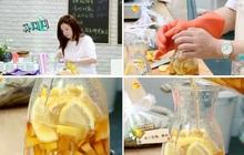 Thức uống rẻ bèo giúp giảm cân thần kỳ của Song Hye Kyo và Phạm Băng Băng; Phạm Hương cũng tập tành làm theo