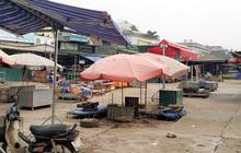 Chợ hoa Quảng Bá - nơi BN 243 từng đặt chân đến 7 lần trong tháng 3 - đóng chặt cửa