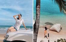 """Mùa hè chưa đến mà Bảo Thy đã """"phá đảo"""" bằng 3 chuyến đi biển liên tiếp: Ảnh đẹp ngập tràn, fan vào năn nỉ làm vlog để xem cho sướng mắt!"""