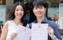 Thúy Vân cùng ông xã đi đăng ký kết hôn, đã hoàn thành những công đoạn chuẩn bị cho đám cưới