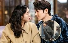 """Rò rỉ ảnh """"bệ hạ"""" Lee Min Ho nắm tay """"vương phi Diana"""" ở hậu trường Quân Vương Bất Diệt, phim giả tình thật hay sao vậy?"""