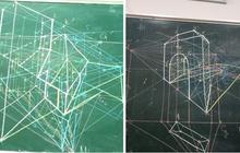 Có một thứ ám ảnh thanh xuân mang tên Toán không gian: Rơi bút một cái là không hiểu giáo viên nói gì