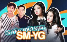 Duyên trời định kỳ phùng địch thủ SM - YG: Hết tình bạn đến tin đồn hẹn hò chấn động, sốc nhất vụ GD - Taeyeon, Jisoo - Suho