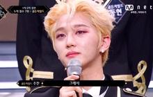 """Lộ diện boygroup đầu tiên bị loại khỏi """"Road to Kingdom"""": Nước mắt ướt đẫm sân khấu khiến fan không khỏi xót xa"""