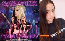 """Lady Gaga """"tảng lờ"""" câu hỏi về MV với BLACKPINK nhưng lại cùng Jisoo tung hint đáng ngờ, kiểu này là có MV collab rồi?"""