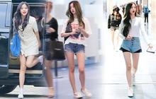 """Idol 16 tuổi được coi là """"đối thủ chân dài"""" của Lisa: Mặc gì cũng đẹp, đôi chân dài siêu thực luôn chiếm trọn spotlight"""